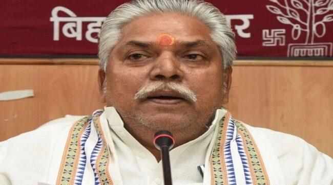 TBN Dr Prem Kumar Agriculture Minister Bihar