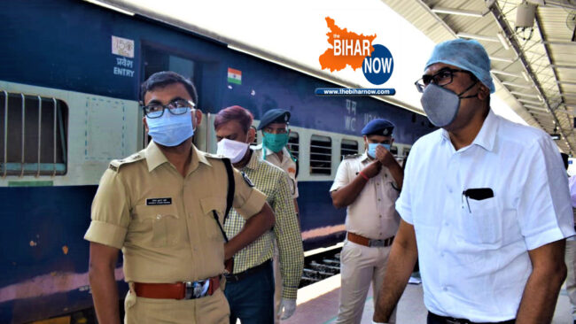 tbn administrative officials at danapur station