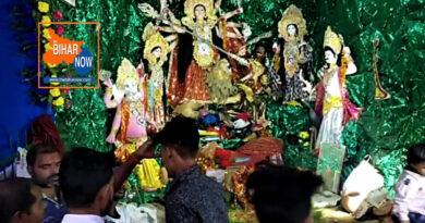 कोरोना के साये में शारदीय नवरात्र पर रही श्रद्धालुओं की भीड़