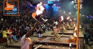 दशाश्वमेघ घाट पर 8 महीने बाद फिर शुरू हुई विश्व प्रसिद्ध गंगा आरती