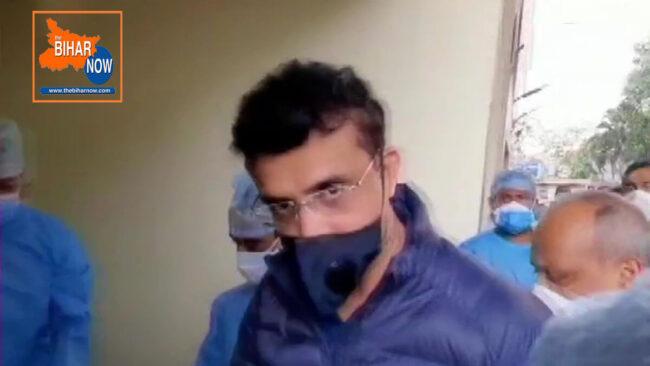 saurabh ganguli at apollo hospital kolkata