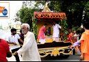 बोधगया स्थित जगन्नाथ मंदिर में सांकेतिक रथयात्रा का आयोजन