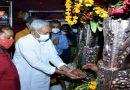 शारदीय नवरात्रा के अष्टमी पर नीतीश ने लगाई माता के दरबार में हाजिरी